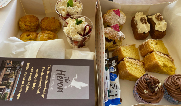 Afternoon Teas; Collection & Delivery